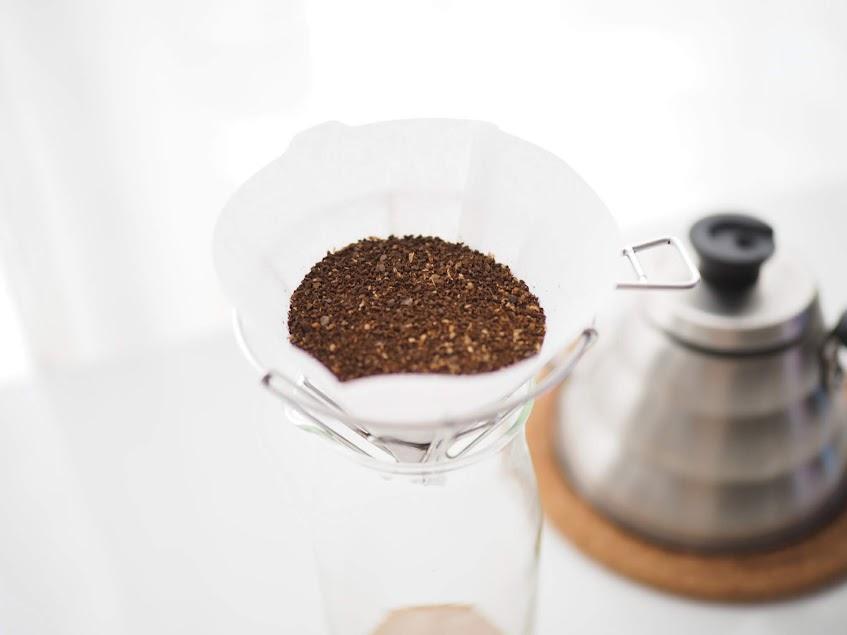 コーヒーの粉をセット