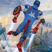 Game Flying Captain Speed Hero: Top Robot Games APK for Windows Phone