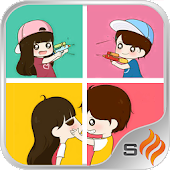 Couple wallpaper -Smile Studio