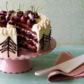 Mary's Black Forest gâteau.