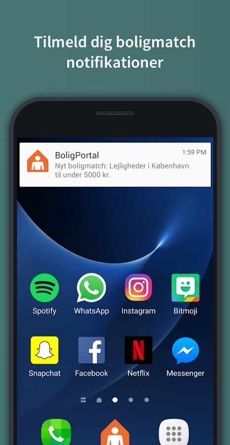 BoligPortal – screenshot
