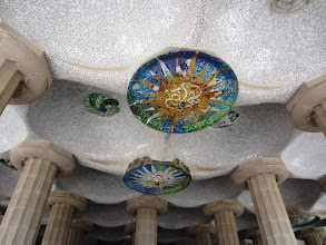 Photo: Beautiful ceiling -- the park is a UNESCO World Heritage Site