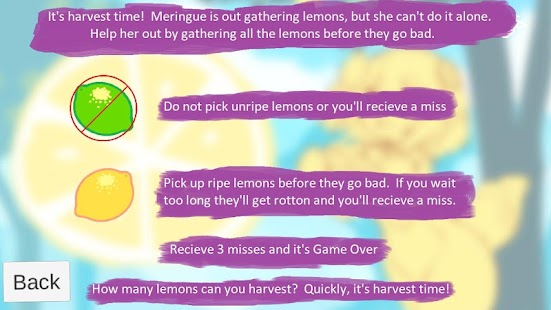 Lemon Harvest Screenshot