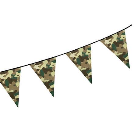 Flaggirlang, camouflage