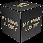 3D My Name Luxury Wallpaper Icon