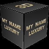 3D My Name Luxury Wallpaper