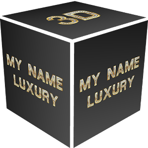 3D My Name Luxury Wallpaper