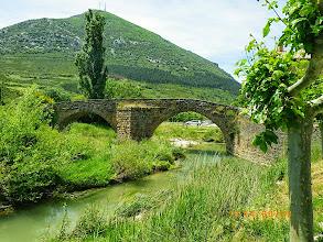 Photo: Pont romain sur le rio Elorz
