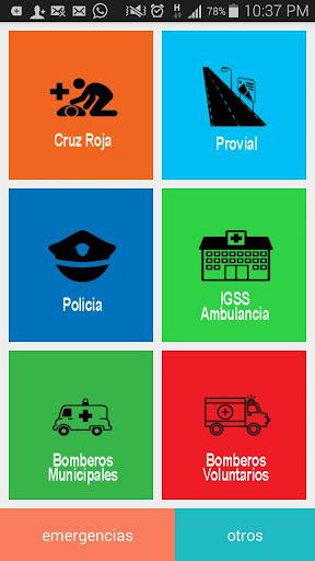 Emergencias Guatemala