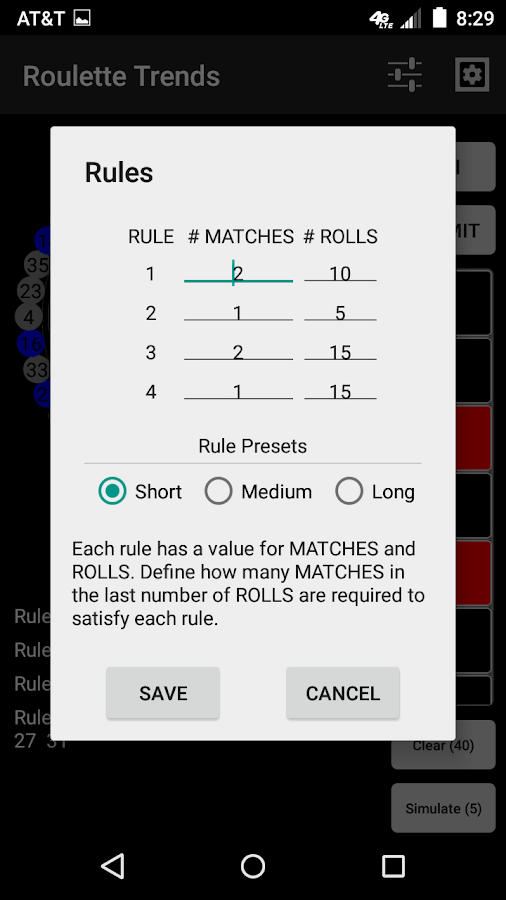 roulette trends