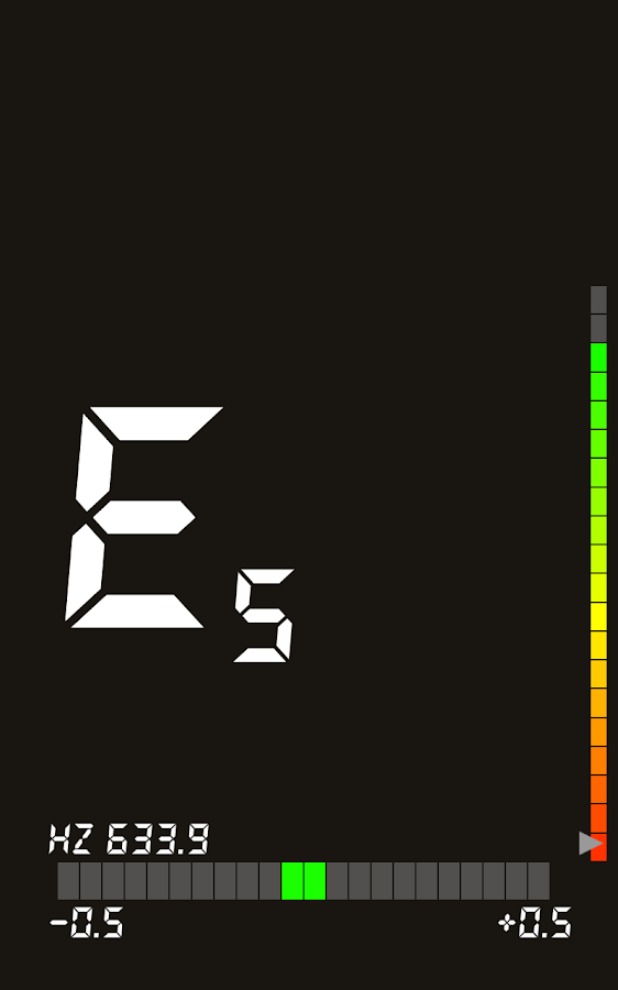 Easy Guitar Tuner- screenshot