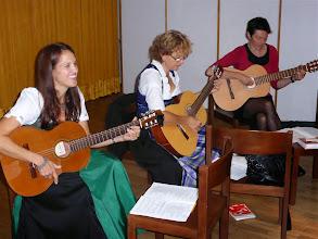 Photo: Die Ad-Hoc Musikkapelle der Familiengottesdienstgruppe.