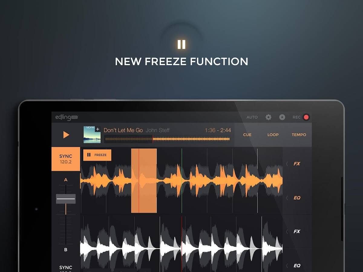 edjing PRO LE - Music DJ mixer- screenshot