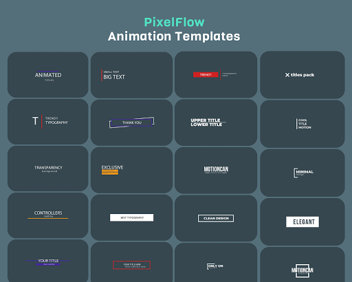 PixelFlow - Intro maker and text animator screenshot 7