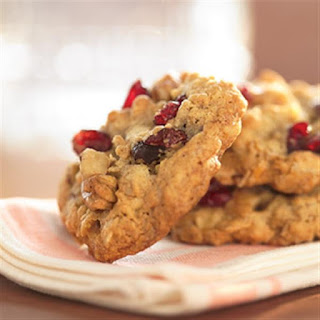 Cranberry Walnut Oatmeal Cookies Recipe