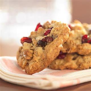 Cranberry Walnut Oatmeal Cookies.