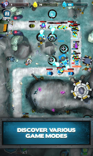 Blew TD: Free Tower Defense strategy game 1.8.10 de.gamequotes.net 2