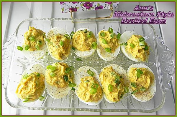Ann's Midwestern Style Deviled Eggs Recipe