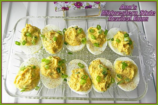 Ann's Midwestern Style Deviled Eggs Recipe