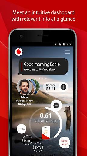 My Vodafone New Zealand 4.12.2 screenshots 1