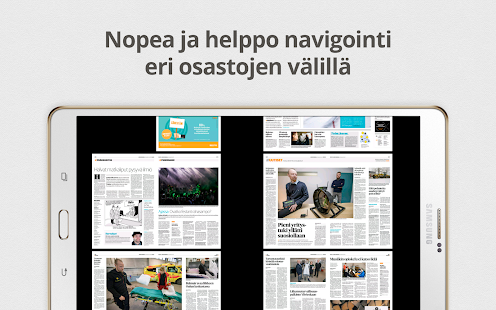 eKaleva- screenshot thumbnail