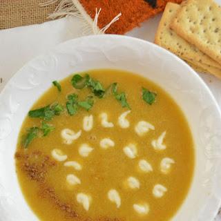 Egyptian Red Lentil Soup.