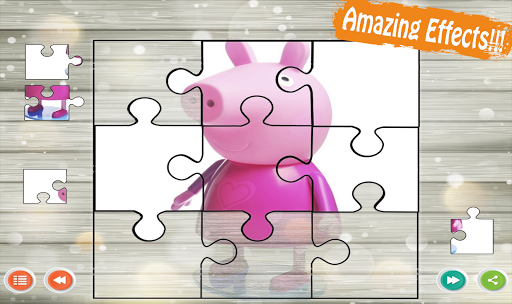 Peppa Puzzle For Kids-Pink Pig 1.0.4 screenshots 4