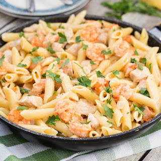 Chicken Shrimp Penne Pasta Recipes