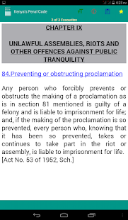 Kenya's Penal Code - náhled