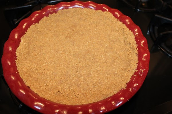 Crust: combine crushed cookies and melted butter. Press crumbs into the bottom and up...