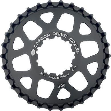 Gates CDX:SL Rear Sprocket for 9-Spline Freehub - 30t, Black alternate image 0