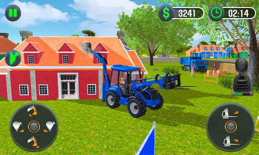 Farming Simulator - Big Tractor Farmer Driving 3D 1.0 screenshots 1
