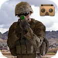 VR Army Commando Shooting Icon