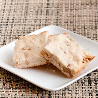 Maple Walnut Shortbread