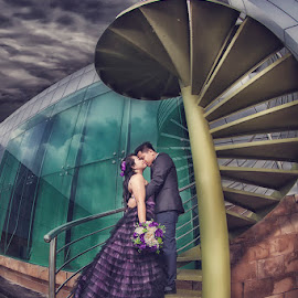 by Freddie Ambrose - Wedding Bride & Groom