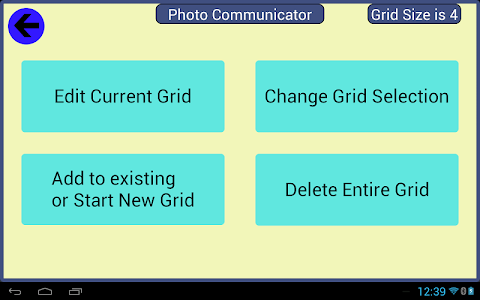Photo Communicator AAC Lite screenshot 1