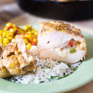 Inside Out Chicken Fajitas