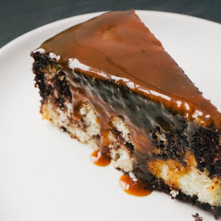 Marble Cake with Bittersweet Caramel.