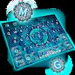 Blue Galaxy Mandala Keyboard Theme APK