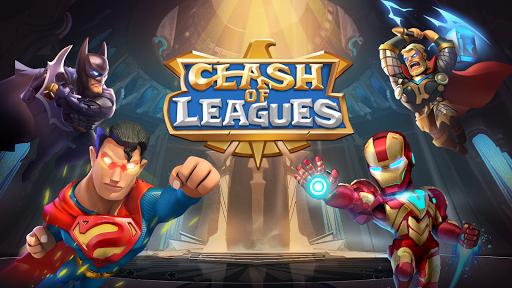 Code Triche Clash of Leagues: Heroes Rising  APK MOD (Astuce) screenshots 1
