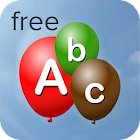 Alphabet Balloons Free (Kids) icon