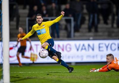 Comme un symbole, Loris Brogno marque pour le Beerschot Wilrijk en Play-Offs 2