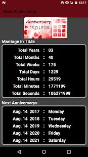 Anniversary Calculator - náhled
