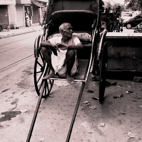 Taking Rest........ by Dipan Chaudhuri - Novices Only Street & Candid