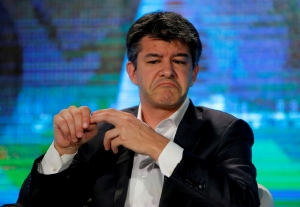 Former Uber CEO Travis Kalanick. Picture: REUTERS