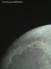 Photo: 30-mar-2007: Sinus Iridum y cráter de Platón -- Motilla del Palancar (CU)