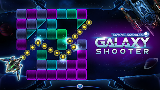 Bricks Breaker Galaxy Shooter Capture d'écran