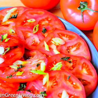 Easy Tomato Salad, the perfect and refreshing side dish.