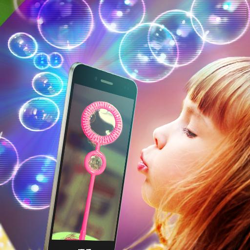 模擬App|ホログラムバブル悪ふざけ LOGO-3C達人阿輝的APP