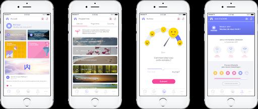 application mobile Wellogy